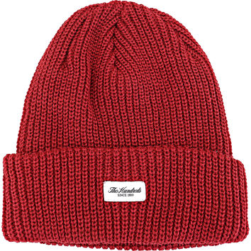 The Hundreds Crisp 2 Beanie - Burgundy