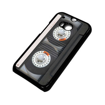 RETRO CASSETE TAPE HTC One M8 Case Cover
