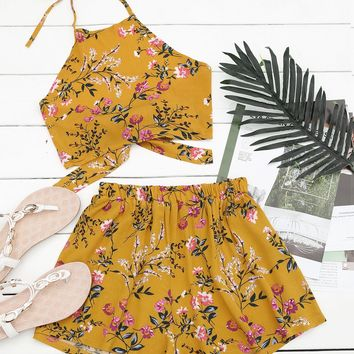 Jamie Floral Two Piece Set