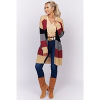 For The Look Oversized Knit Cardigan (Multi)
