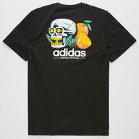 ADIDAS Tropic Skull Mens T- Shirt