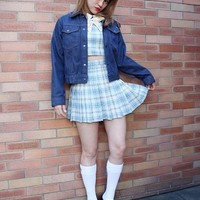 BUBBLES Plaid Skirt