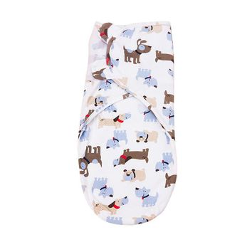 Baby Swaddle Wrap Envelope Blanket - Animal Pattern - 0-3 months