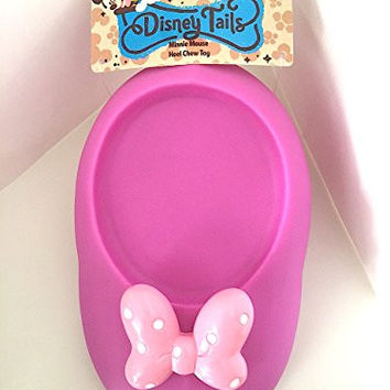 Disney Tails Minnie Mouse Shoe Vinyl Squeak Chew Toy for Dogs NEW
