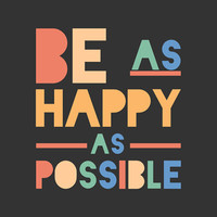 Henry James 8x10 Print - Be as happy as possible