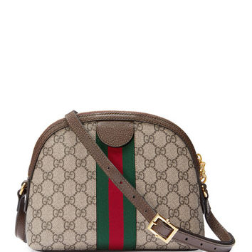 Gucci Linea Dragoni GG Supreme Canvas Small Shoulder Bag