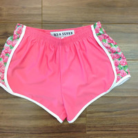 Athletic Shorts - Rose (Pretty Pink) - Krass & Co