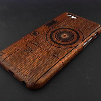 Camera C3 iPhone 6 Case - Real Wood iPhone 6 Case - Wooden iPhone 6 Case - Natural Wood iPhone 6 Case - Christmas Gift