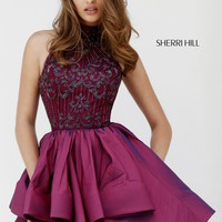 Sherri Hill 32338 Ruffled A-Line Dress
