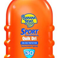 Banana Boat Sunscreen Sport Performance Quik Dri Broad Spectrum Sun Care Sunscreen Spray - SPF 30, 6 Ounce