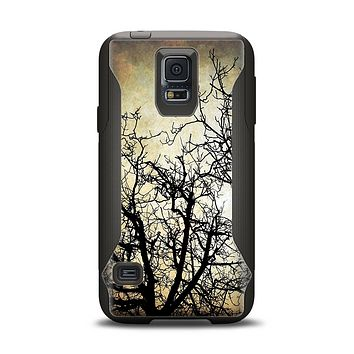 The Dark Branches Bright Sky Samsung Galaxy S5 Otterbox Commuter Case Skin Set