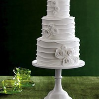 Wedding, Cake, White, Modern - Project Wedding