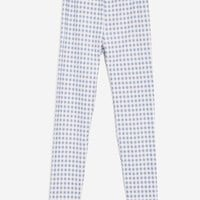 Ruffle Gingham Leggings