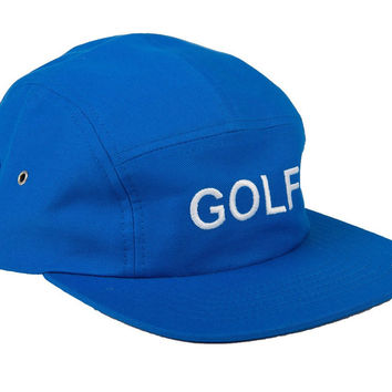 GOLF CAMP HAT ROYAL BLUE – golfwang