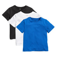 3-pack T-shirts - from H&M