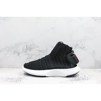 Adidas Crazy 1 Adv Sock Primeknit Black White