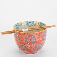 Medallion Noodle Chopsticks + Bowl - Urban Outfitters