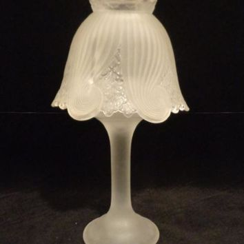 Party Lite Votive Tealight Frosted Lamp