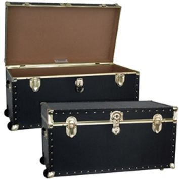 Dorm Supply Essentials - The College Dorm Room TrailBlazer Trunk - With Wheels Dorm Room Stuff
