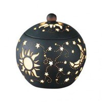 DonnieAnn Company Sun, Moon, Star Tealight Holder with Lid - SH9029 - Candles & Holders - Decorative Accents - Decor