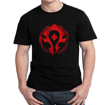 Horde Logo Womans and Mens T-shirt Black