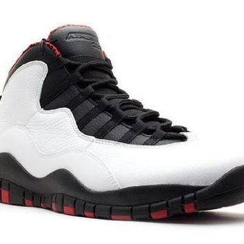 PEAPN Ready Stock Nike Air Jordan 10 Retro Chicago 2012 Release  Basketball Sport Shoes
