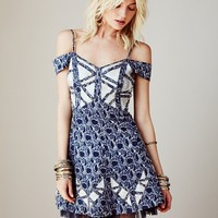 Free People Crystallized Cutaway Dress