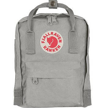 Fjallraven Kanken Mini Backpack Bag Fog