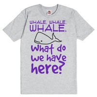 Whale, whale, whale. What do we have