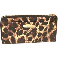 Victoria's Secret Side Zip Leopard Wallet