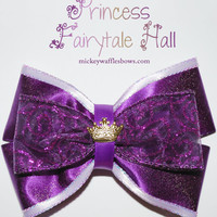 Princess Fairytale Hall Hair Bow