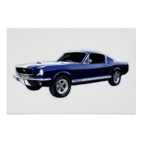 Classic Mustang Fastback