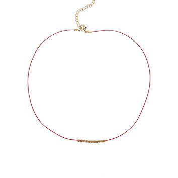 Limited Edition Cord Bead Necklace