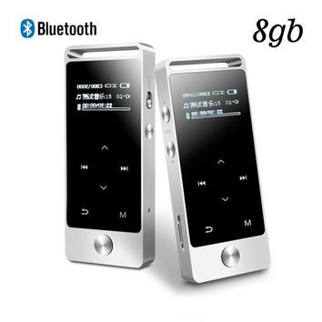 New Original BENJIE S5 Bluetooth MP3 Player 8GB Metal HIFI Sound lossless MP3 Music Player Touch Screen FM MP3 Recording