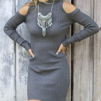 Cupshe Shrug It Off Sweater Dress
