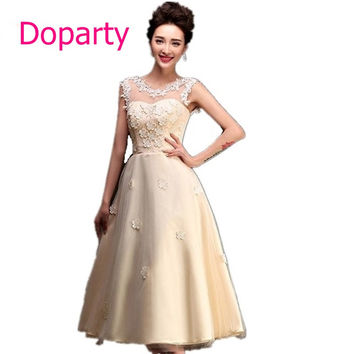 2017 Cute 8th Grade Prom Sexy Long Semi Formal Beautiful Homecoming Dresses to Party Flower For High School Under 30