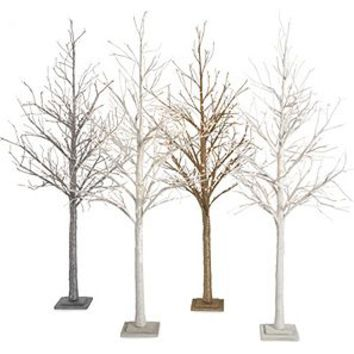 LED Glitter Tree 7' | Holiday Decor | Collections | Z Gallerie
