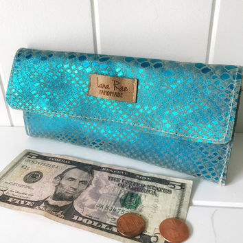 Leather Mermaid Wallet
