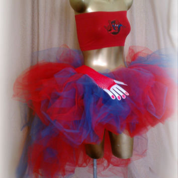 how to make a high low tutu