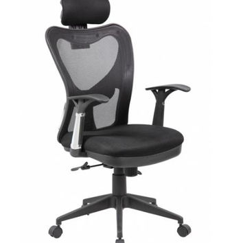 High Back Mesh Ergonomic Office Chair with Back and Arms Support