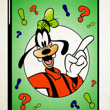 Goofy Disney Z1470 iPad 2 3 4, iPad Mini 1 2 3, iPad Air 1 2 , Galaxy Tab 1 2 3, Galaxy Note 8.0 Cases