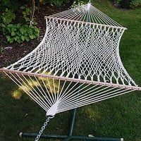 Single Hammock, Cotton Rope | Outdoor and Patio Furniture| Furniture | World Market