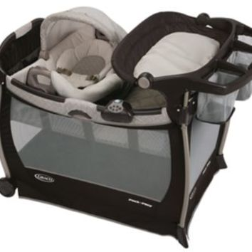 Pack 'n Play® Playard with Cuddle Cove™ Elite Rocking Seat   gracobaby.com