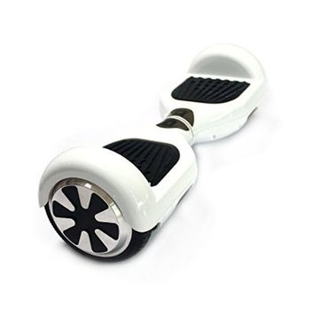 Shareconn electric scooter Two Wheels Smart Self Balancing Scooters for adults kids with LED Light(Black)