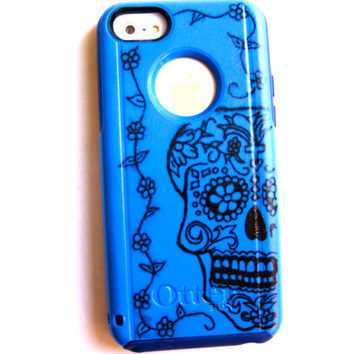 Otterbox iPhone 5C case, case cover iphone 5c otterbox ,iphone 5c otterbox case,otterbox iphone 5C, otterbox, skull otterbox case