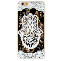 Unique Quicksand Twinkle Lace Case Cover for iPhone 5s 5se 6 6s Plus Free Gift Box 47
