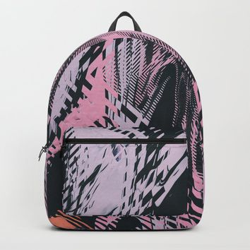 No Small Talk Backpack by duckyb