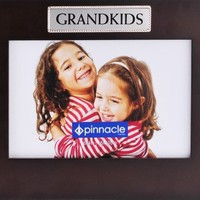 Pinnacle Frames Walnut Grandkids Desk Frame, 6 inch by 4 inch