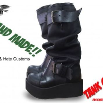 Tank Girl boots
