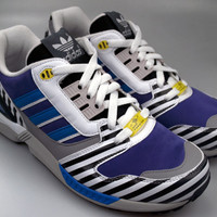 "Adidas® x The Memphis Group ZX8000 ""Post Modern"" Pack - Purple/Blue/RunWhite"